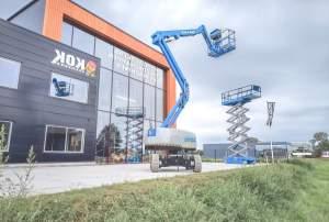 Podnośnik koszowy (boom lift), podnośnik nożycowy (scissor lift) - urządzenia transportu bliskiego objęte dozorem technicznym